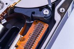 Close Up Hard Disk Stock Image