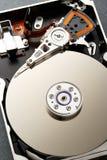 Close up of hardisk's internal mechanism Stock Image
