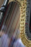 Close-up of harp Royalty Free Stock Photography