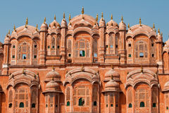Close up of Hawa Mahal architecture Royalty Free Stock Image