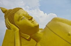 Close up head buddha Royalty Free Stock Images