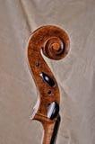 Close up of the head of cello Stock Photos