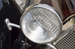 Close-up of headlight Stock Photo