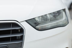 Close up of a headlight Royalty Free Stock Photography