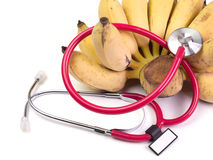 Close up Healthy food in heart, Headphones medical. Close up Healthy food in heart, Headphones medical , Headphones medical ,concept royalty free stock photos