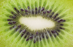 Close up of a healthy kiwi fruit Stock Photos