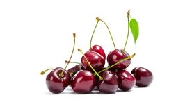 Close up of heap of cherry royalty free stock photography