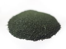Spirulina powder Stock Photography