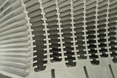 Close Up Of Heat Sink Royalty Free Stock Photo