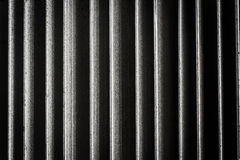 Close up of heatsink ,abstract background Royalty Free Stock Photography