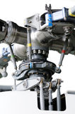 Close-up of a helicopter rotor Stock Images