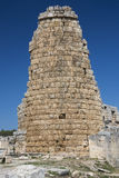 Close-up of the hellenistic city gate of Perge Royalty Free Stock Photos