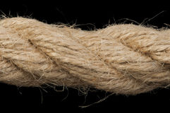 Close up hemp rope Royalty Free Stock Image