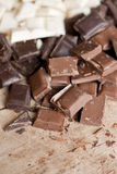 Close up of high quality handmade chocolate Stock Images