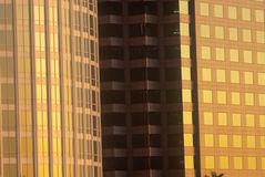 Close up of high rise building Royalty Free Stock Photos