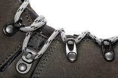 Close-up hiking shoe Stock Images