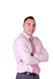 Close up on a Hispanic Businessman Royalty Free Stock Image