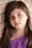 Close up of Hispanic little girl Royalty Free Stock Photos