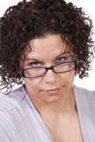 Close up on a Hispanic Woman Stock Images