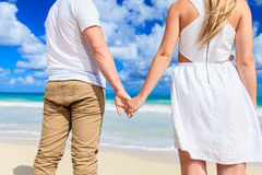 Close-up Holding Hands Stock Image