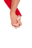 Close up of holding hands Royalty Free Stock Photography