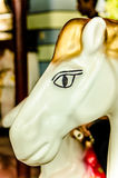 Close up of horse in a carousel Royalty Free Stock Photos
