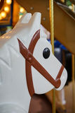 Close up a horse head of carousel Stock Photography