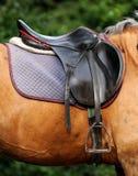 Close up of horse saddle. Royalty Free Stock Photos