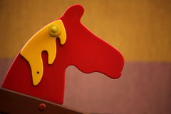 Close up of a horse swing Royalty Free Stock Image