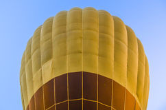 Close up of hot air balloon on blue sky Royalty Free Stock Images
