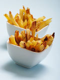 Close up of hot french fries Stock Photo