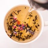 Close up of hot tea Royalty Free Stock Photos