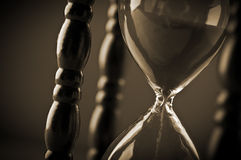 Close up of hourglass Royalty Free Stock Image