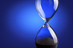 Close up hourglass Stock Photo