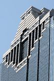 Close up of Houston Building Royalty Free Stock Image