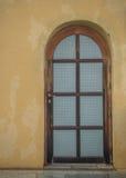 Close-up houten deur Stock Afbeelding
