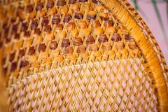 Close-up houten stoel Stock Fotografie