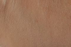 Close up of human skin cells Royalty Free Stock Photography