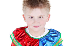 Close-up humeral portrait of little boy Royalty Free Stock Photos