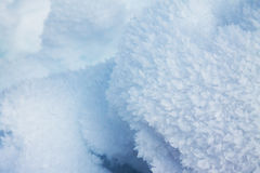 Close-up of Ice Crystals Stock Images
