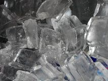 Close-up of ice cubes Stock Photos