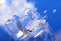 Close up of ice cubes Stock Images