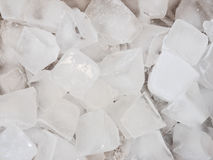 Close up of ice cubes Stock Image