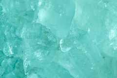 Close up Ice frozen sea blue tone style abstract background Royalty Free Stock Photo