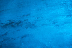 Close-up of ice wall inside glacier tunnel Royalty Free Stock Photos