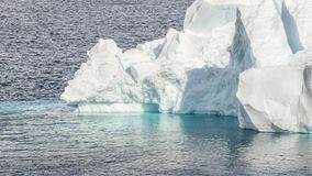 Close up of Iceberg in Antarctica bay stock photos