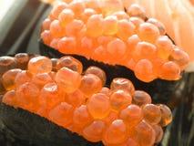 Close up Ikura sushi Royalty Free Stock Images