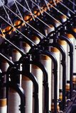 Close-up of Illuminated Metal Royalty Free Stock Image