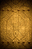 Close-up image of ancient doors Royalty Free Stock Photo