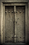 Close-up image of ancient doors Stock Images